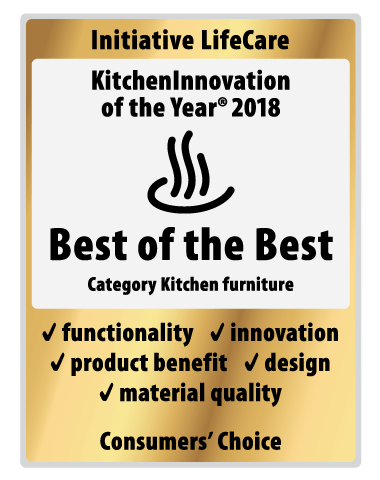 Kitchen Innovation Award 2018 Nobilia