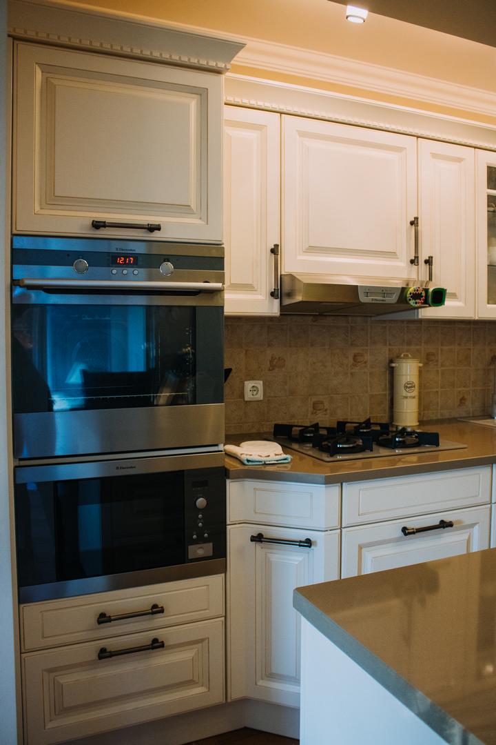 Referință - Bucătărie clasică Nobilia Castello - Bej antichizat / cuarț autentic