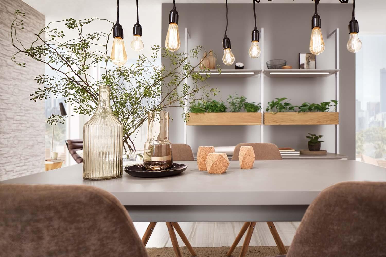 Mobilă de sufragerie / dining Nobilia Touch - Gri piatră