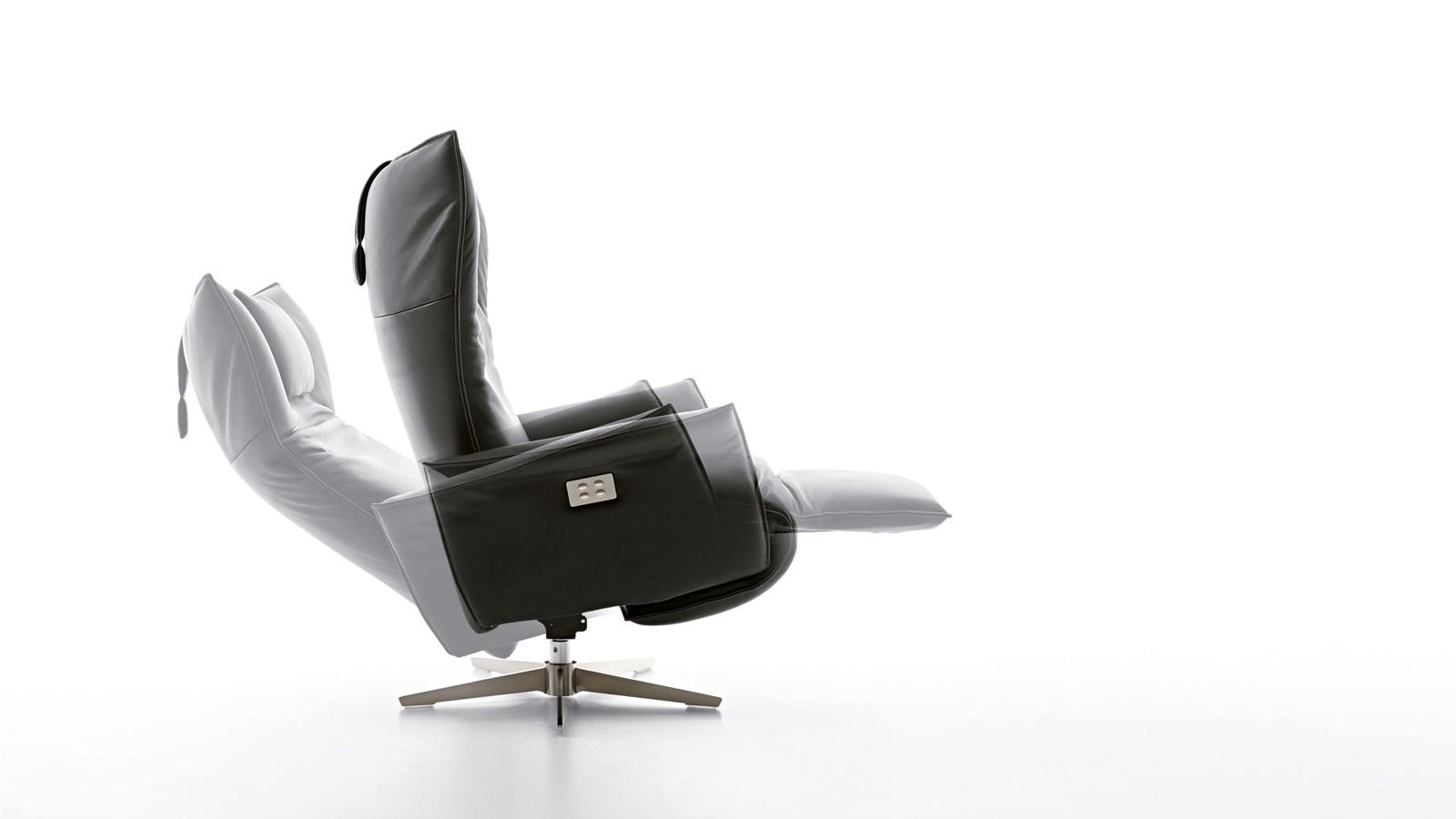 Fotoliu recliner cu masaj Koinor Swan - Silencio