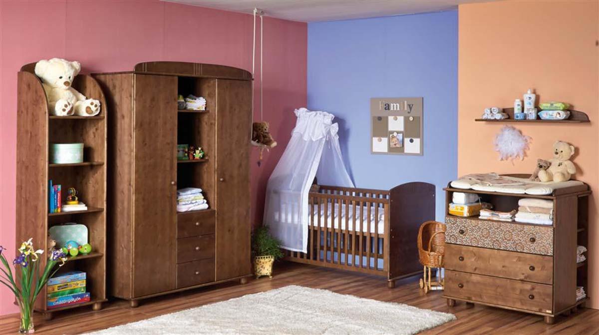 Mobilă pentru bebeluși, copii & tineret Faktum Tomi - Wenge