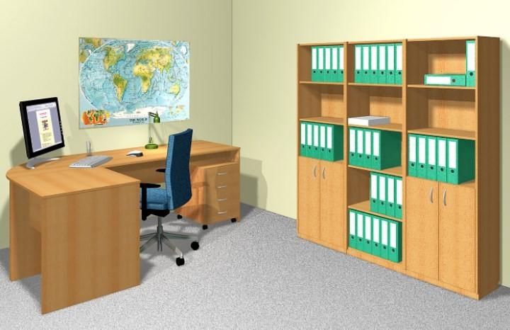 Mobilier de birou Tempo Assistent New - Fag