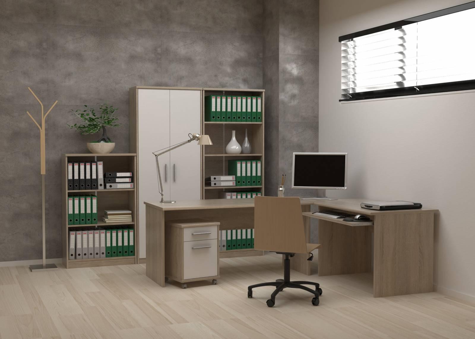 Mobilier de birou Johan New - Sonoma