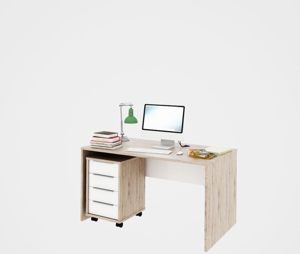 Mobilier de birou Rioma - San Remo / alb