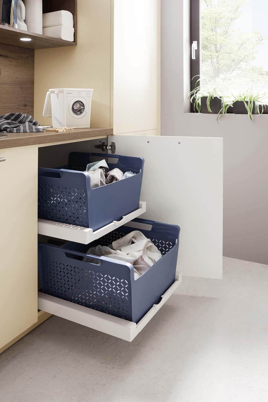 Mobilier modern pentru baie Nobilia Speed - Crem, bej mat