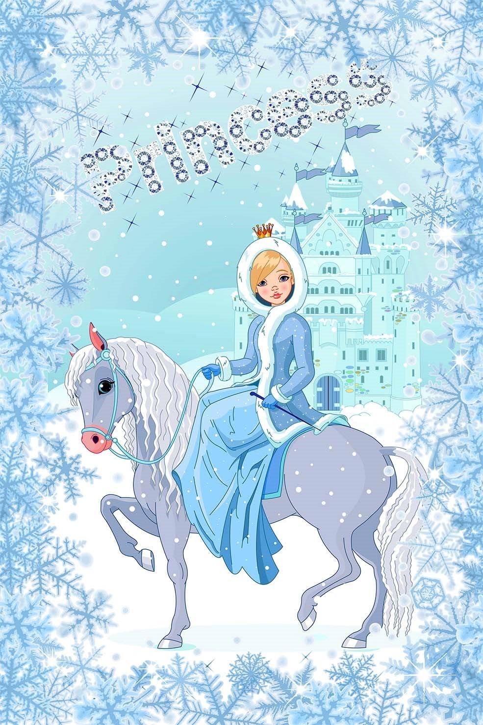 Covor Princess pentru copii