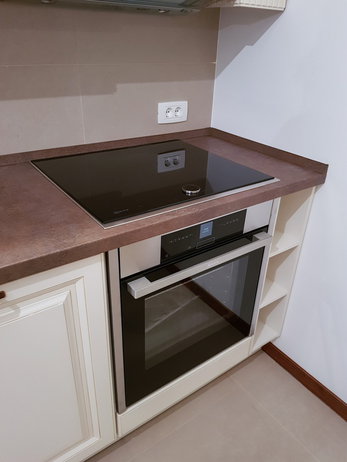 Referință - Bucătărie clasică Nobilia Castello - Bej antichizat / Ferro bronze
