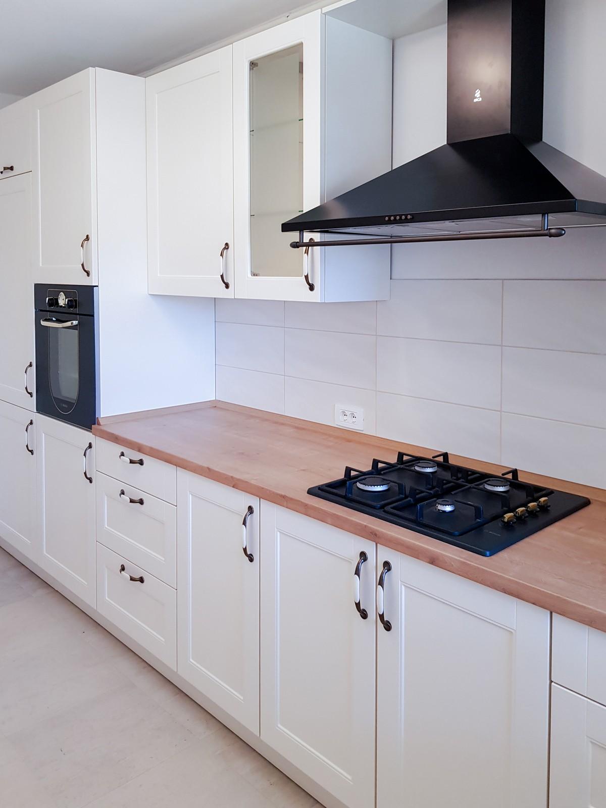 Referință - Bucătărie rustică Nobilia Lucca - Bej / Stejar Provence