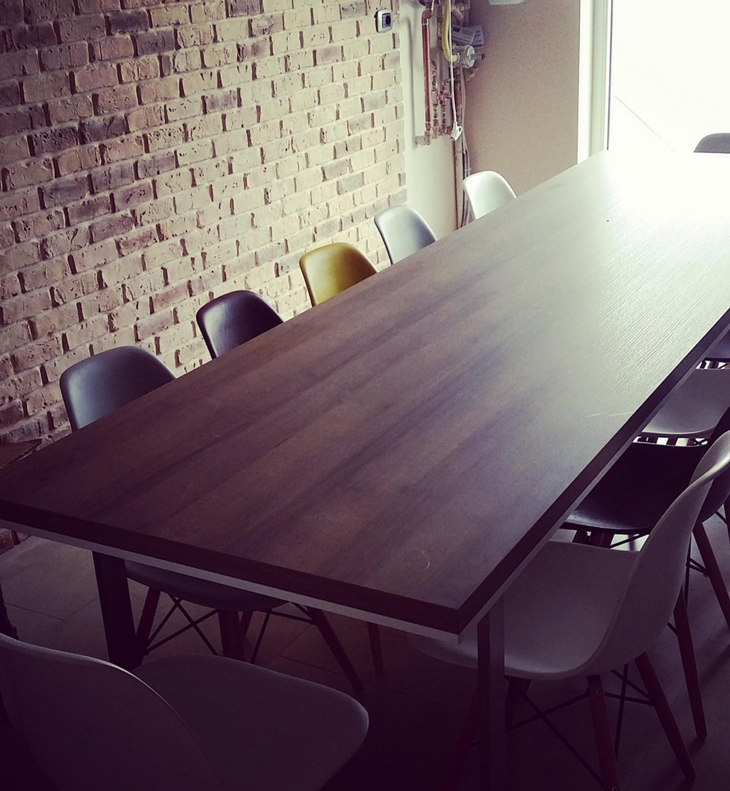 Referință - Masă dining modernă Nobilia - Stejar Ontario