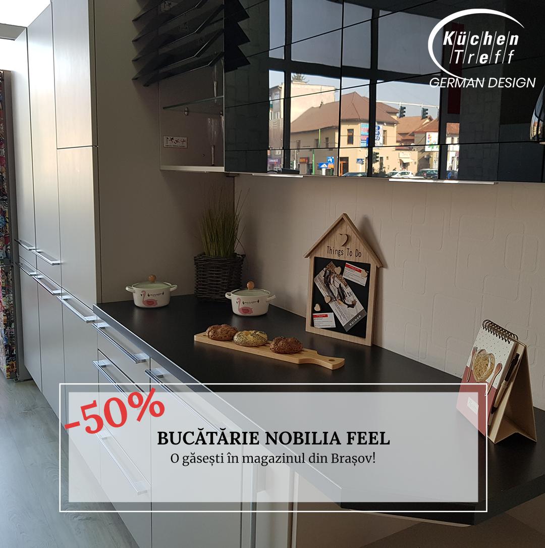 VÂNDUT - Bucătărie Nobilia Feel