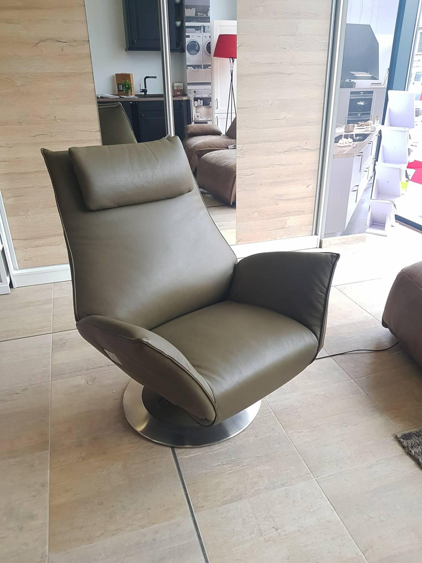 Lichidare - Fotoliu recliner cu masaj Koinor Safira Maro