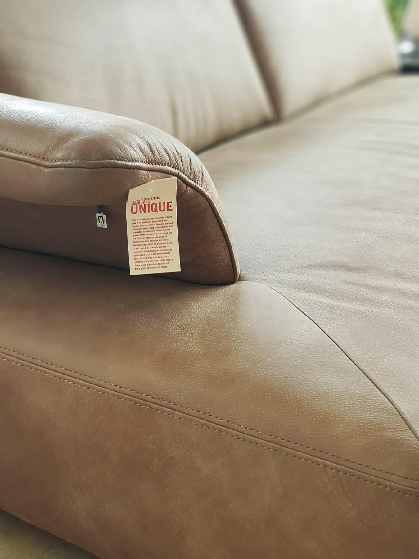 VÂNDUT - Canapea Koinor Avanti din piele naturală, maron