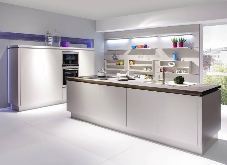 Mobilă de bucătărie modernă Nobilia Laser - Nisip