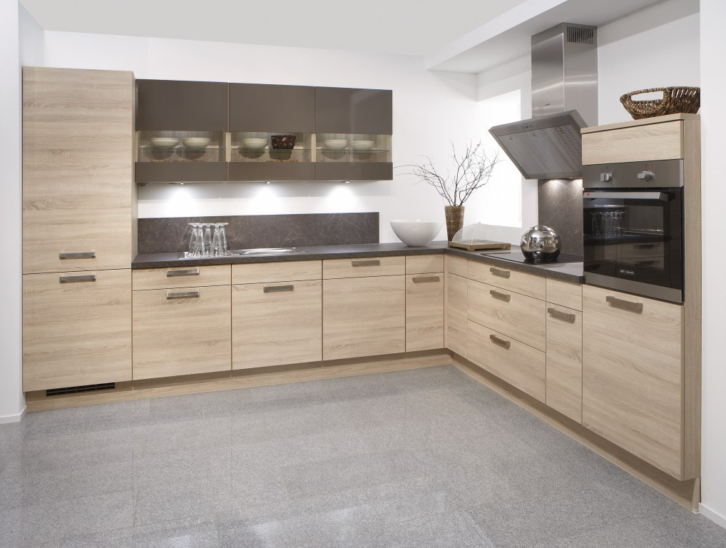 Mobilă de bucătărie modernă Nobilia Rio - Stejar Virginia