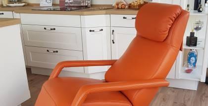 Lichidare - Fotoliu recliner cu masaj Koinor Signo