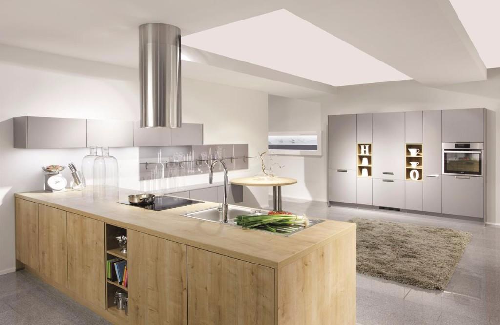 Mobilă de bucătărie modernă Nobilia Rio - Stejar Provence