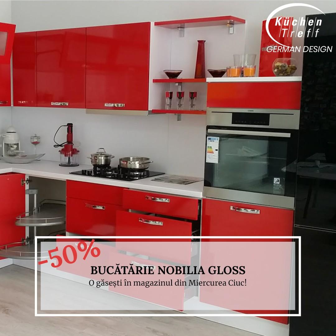 Mobilă de bucătărie Nobilia Gloss