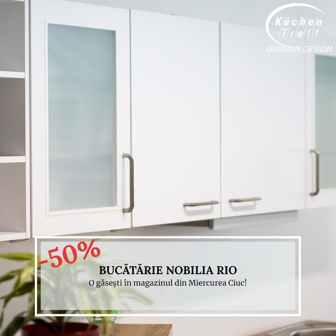 Lichidare - Mobilă de bucătărie modernă Nobilia Rio