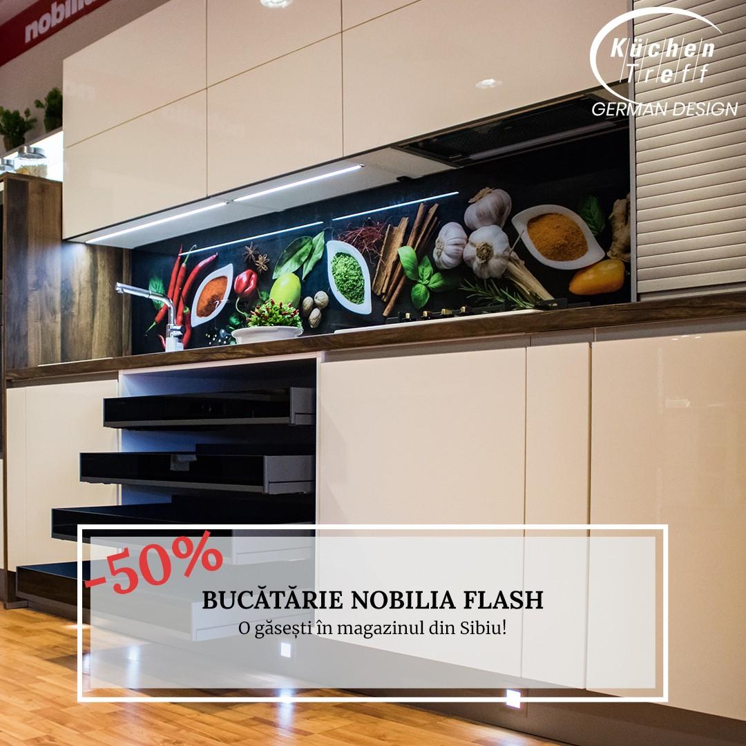 VÂNDUT - Bucătărie Nobilia Flash