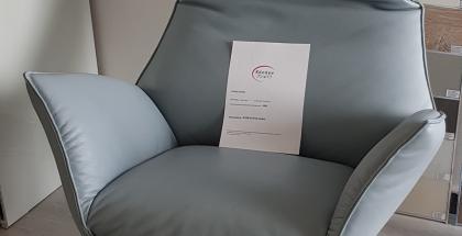Lichidare - Fotoliu recliner cu masaj Koinor Safira Bleu