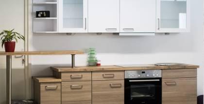 Mobilă de bucătărie modernă Nobilia Rio