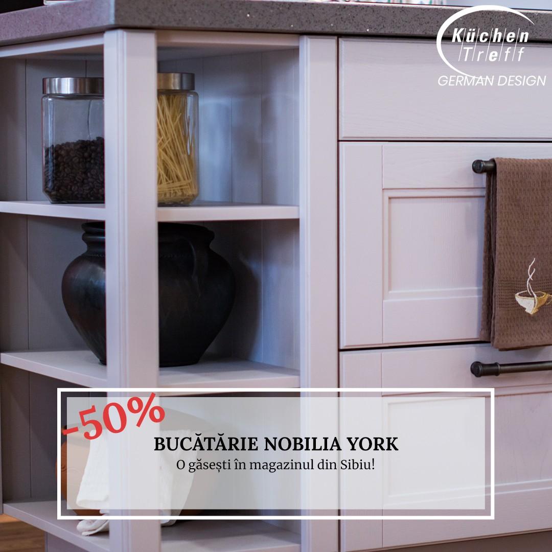 Lichidare - Mobilă de bucătărie rustică Nobilia York
