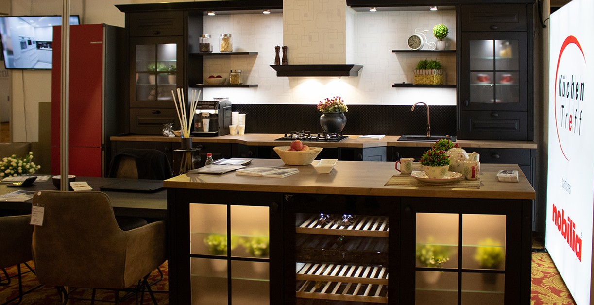 Lichidare - Mobilă de bucătărie rustică Nobilia Sylt