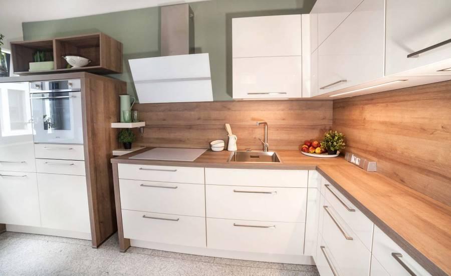 Lichidare - Mobilă de bucătărie Nobilia Flash - Crem