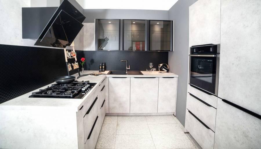 Lichidare - Mobilă de bucătărie Nobilia Speed - Ceramic Grey