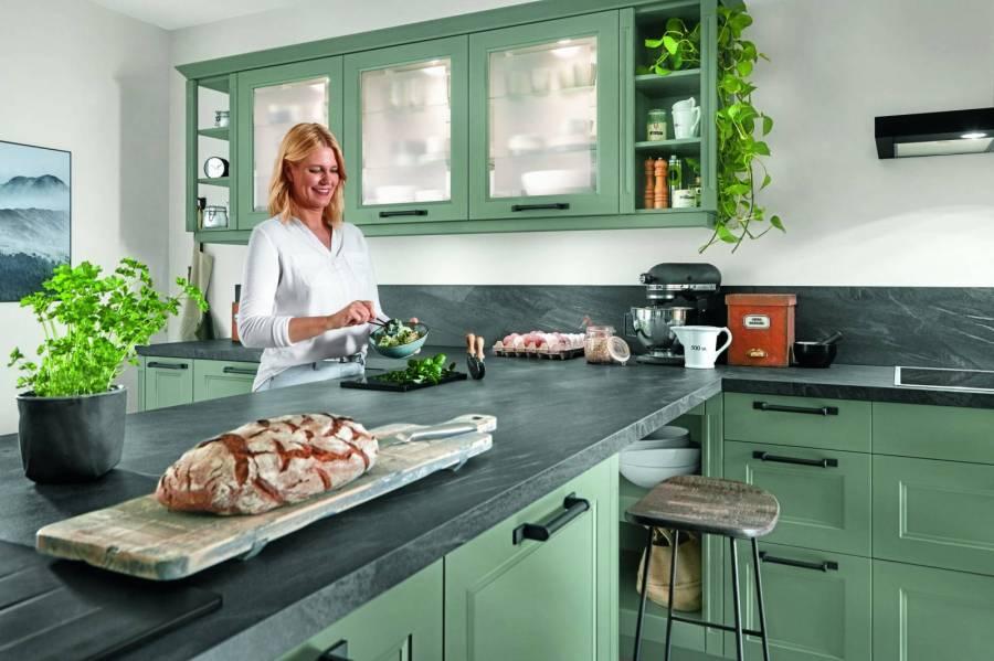 Mobilă de bucătărie modernă Nobilia Cascada