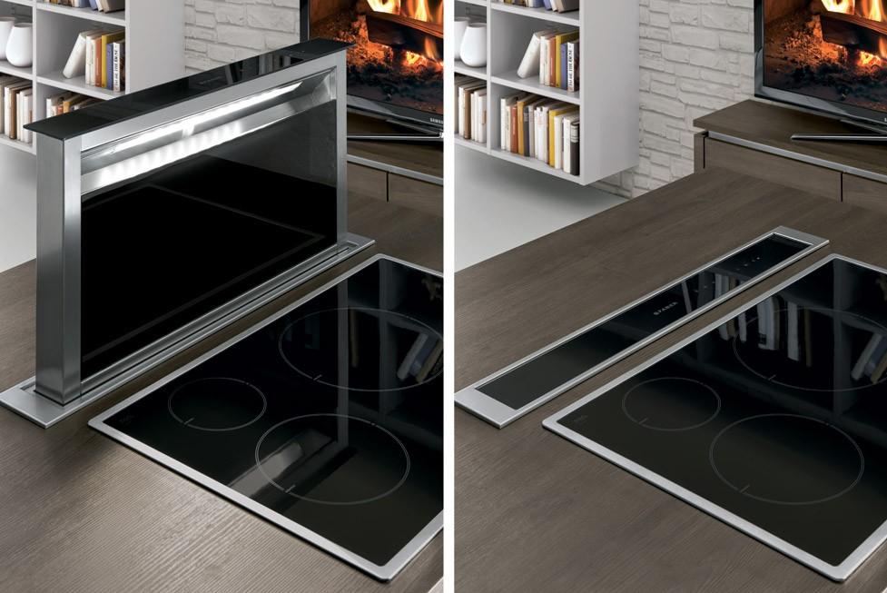 Mobilă de bucătărie modernă Nobilia Structura - Stejar Gladstone