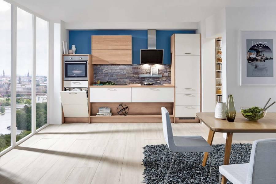 Mobilă de bucătărie modernă Nobilia Touch - Crem, bej mat