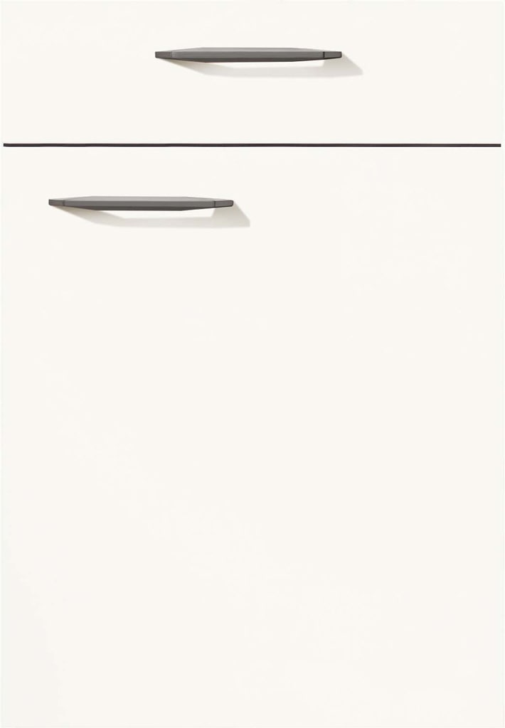 Mobilă de bucătărie modernă Nobilia Fashion - Alb alpin mat