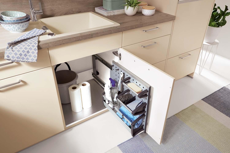 Mobilă de bucătărie modernă Nobilia Fashion - Crem, bej mat