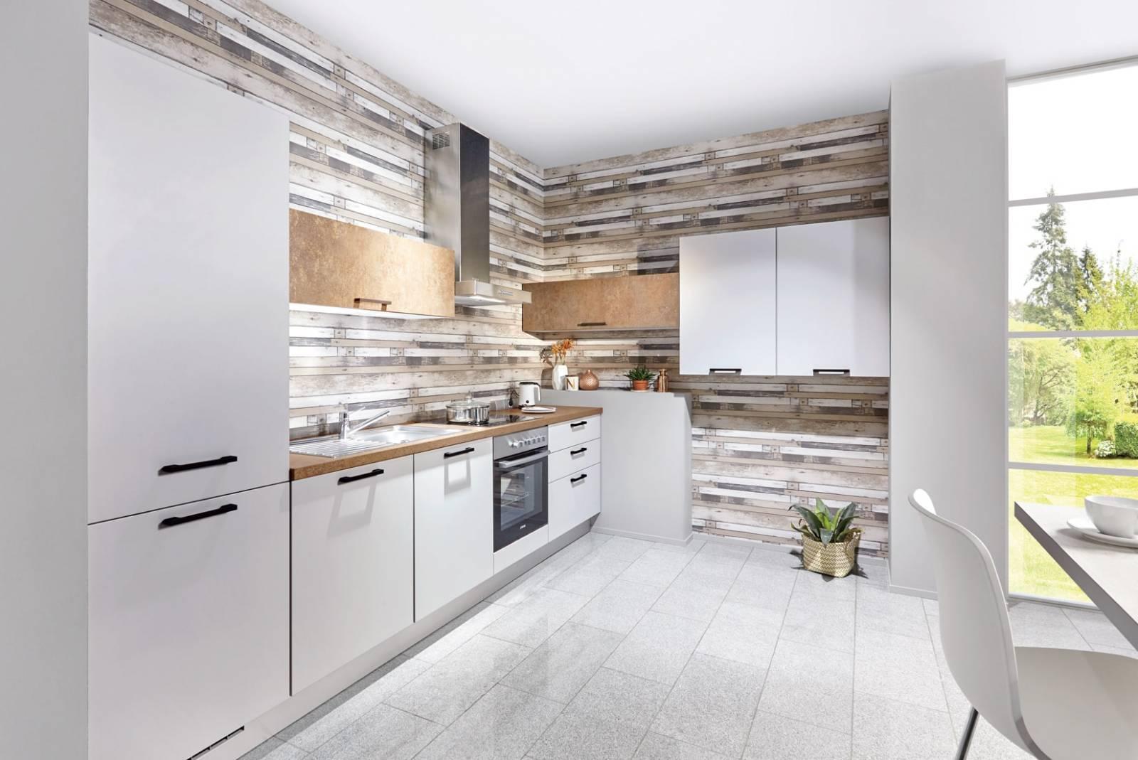 Mobilă de bucătărie modernă Nobilia Fashion - Satin gri mat