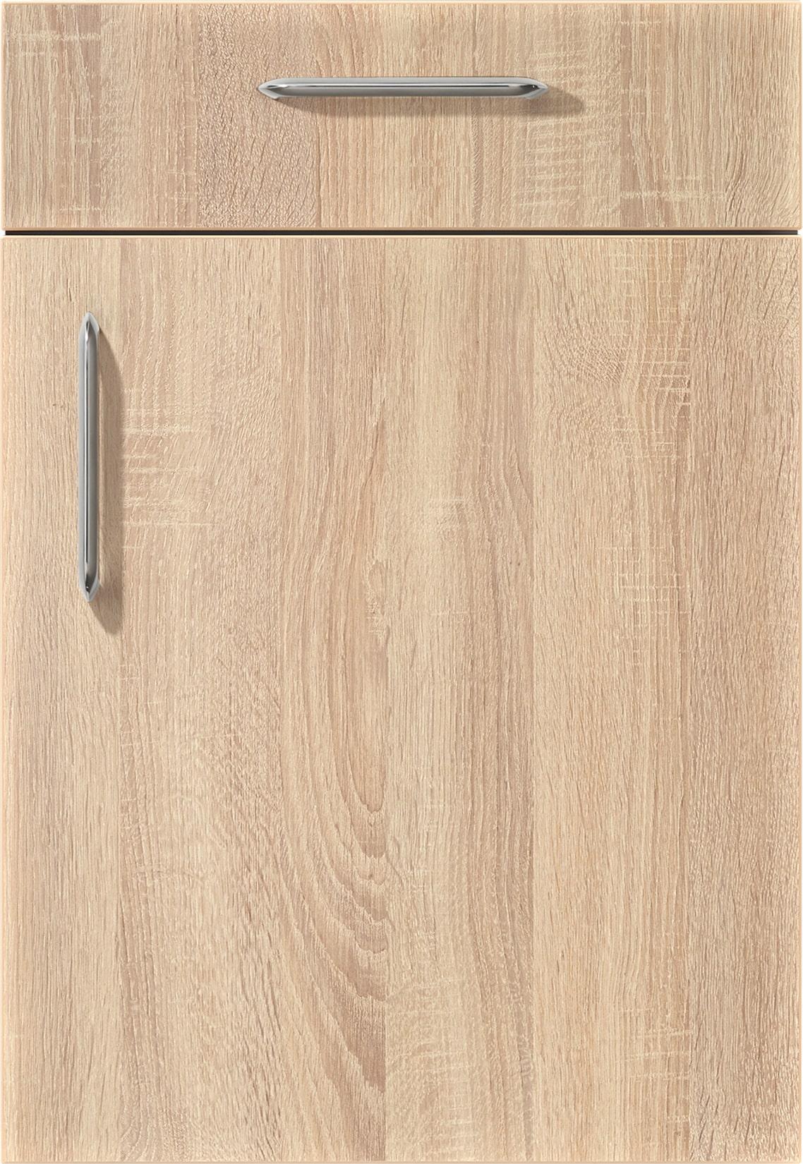 Mobilă de bucătărie modernă Nobilia Speed - Stejar Virginia