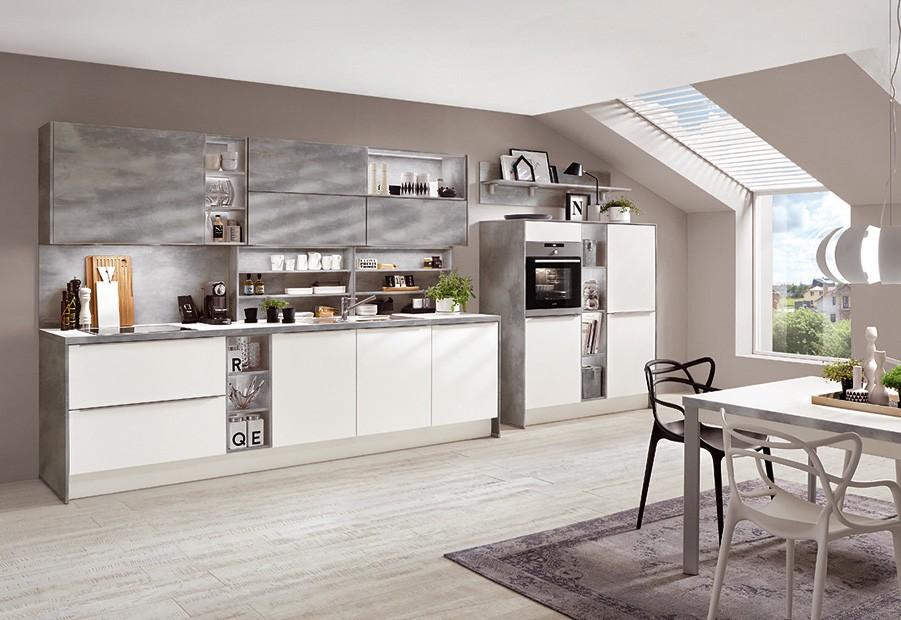 Mobilă de bucătărie modernă Nobilia Color Concept - Caledonia